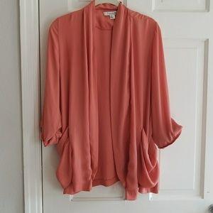 Blush forever cardigan size L